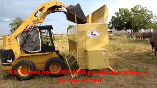 Auto Easy Feeder, Best Cattle Feeders! Programmable And Automatic Livestock Feeders