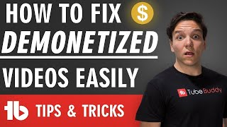 How To Fix Demonetized Videos Easily! Bulk Submit for Manual Review