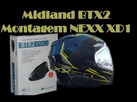 Instalar intercom Midland BTX2 Pro Nexx Xd1 - Tutorial