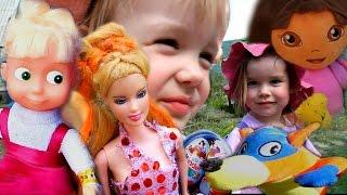 Даша Путешественница Маша и Медведь Кукла Барби СОНЯ ЛИЗА Мультик с игрушками новые серии на русском