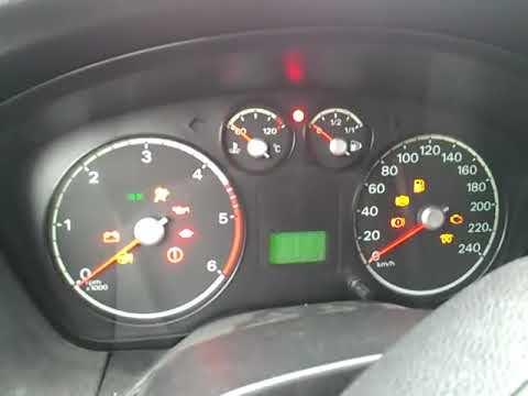 Ford Focus Lx 2006 Instrument Cluster Problem All Lights On Off