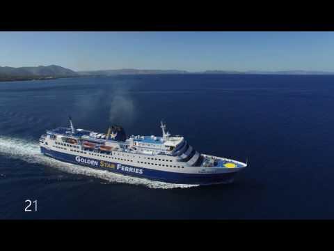 Golden Star Ferries fleet 2017