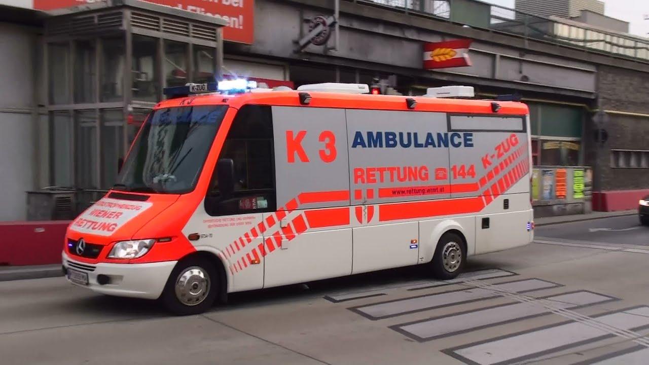 K 3 Berufsrettung Wien (K-Zug) - YouTube