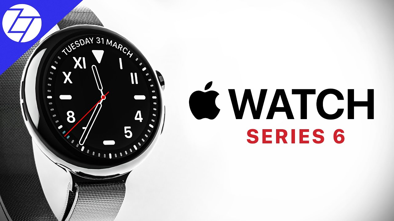 Video: Apple Watch Series 6 Concept with Bezel-Less ...