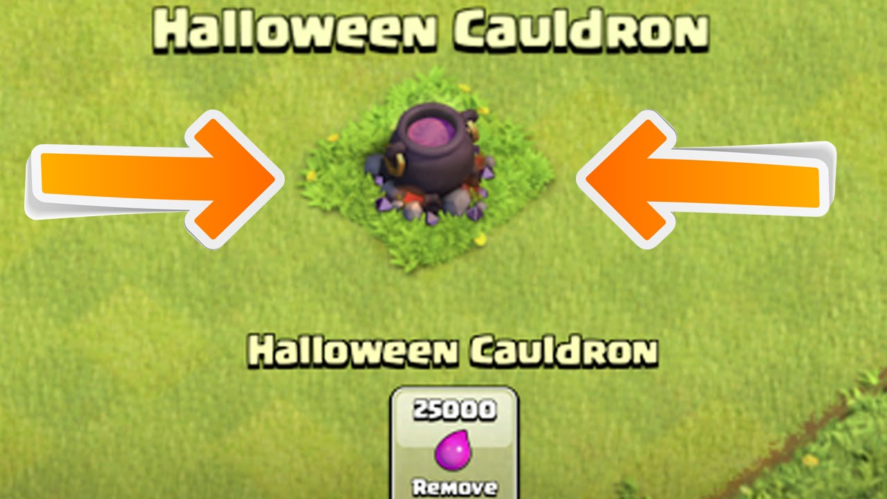 HALLOWEEN UPDATE Leak - Cauldron/Kessel || CLASH OF CLANS [Deutsch ...