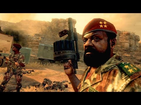 Call of Duty Sued By Angolan Rebel Family