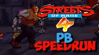 Streets of Rage 4: Floyd speedrun - Arcade Mania 1:06:25 by Anthopants