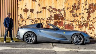 NEW Ferrari 812 GTS With INCREDIBLE Novitec Exhaust! First Drive Review