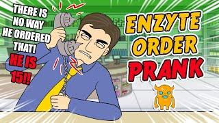 Enzyte Order Prank Call - OwnagePranks