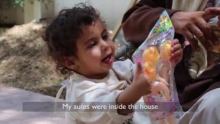 One-year-old survives an airstrike in Yemen