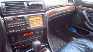 BMW L7 E38 Москва Зеленоград #Видео1/3(Исключительно редкая модель, 899 машин было выпущено., 2014-04-30T20:32:46.000Z)