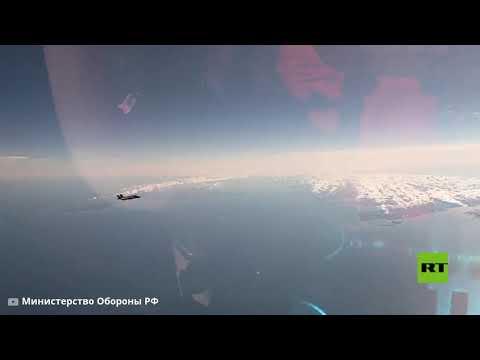 تحليق -حاملات الصواريخ- تو-160 الروسية فوق مياه بحر البلطيق  - نشر قبل 2 ساعة