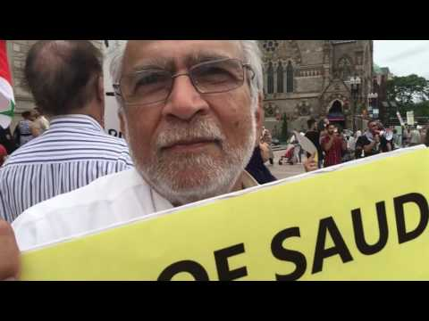 No to occupation in Palestine Protest - 6/1/2016