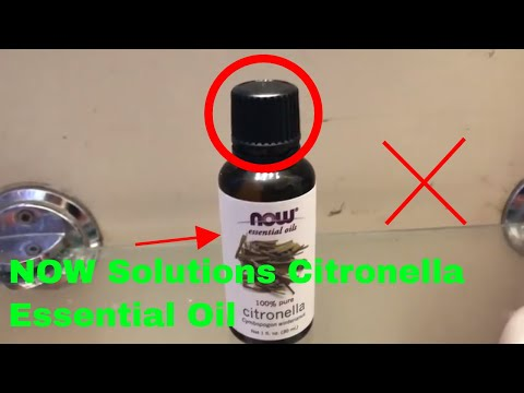 ✅  How To Use NOW Solutions Citronella Essential Oil Review