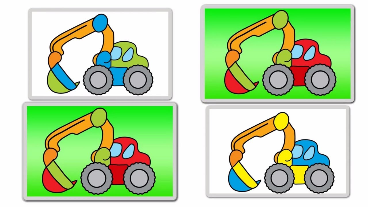 Interactive Learning Games for Kids EXCAVATORS: Build ...