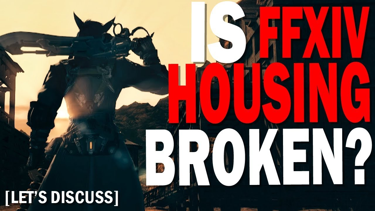 Is FFXIV's Housing System Broken? How would we fix Housing | Let's Discuss