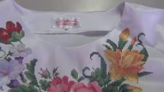 БЖ-023 огляд пошитого сорочки від Барвистой Вишиванки - Рукодільна Шкатулочка
