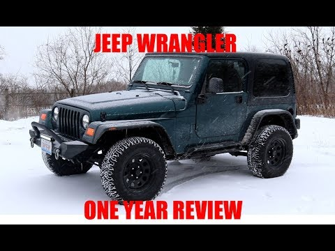 1998 Jeep TJ One Year of Ownership Review!