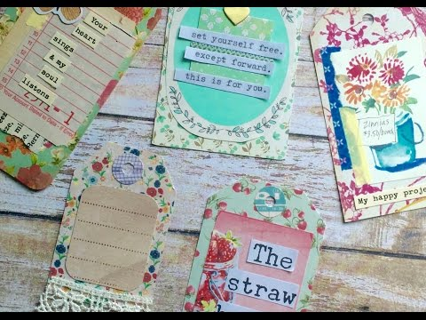 DIY: Creative Paper Tags from Scraps