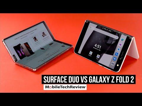 Microsoft Surface Duo vs Samsung Galaxy Z Fold 2 5G Comparison Smackdown