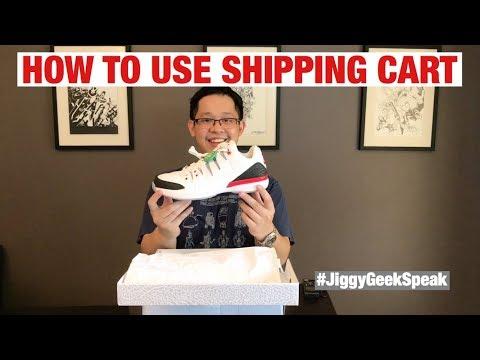 HOW TO USE SHIPPING CART | GEEK SPEAK EPISODE 40 | JIGGY CRUZ