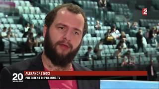 Reportage de France 2 lors des finales LCS EU à Paris
