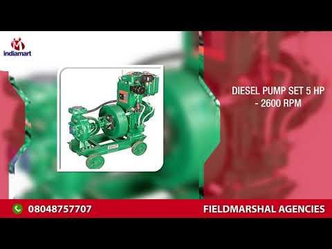 Diesel Pump set 5 HP - 2600 RPM - Fieldmarshal Agencies, Pune | ID