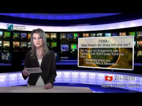 FEMA -- Was haben die bloß mit uns vor ?