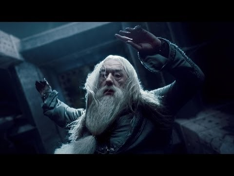 The Death of Albus Dumbledore  Harry Potter and the Half Blood Prince HD