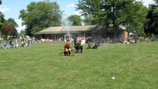 War of 1812 Unit Tactical Demonstration--Fort Malden National Historic Site of Canada