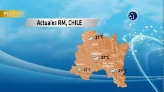 El Tiempo Actualmente en Santiago de Chile.