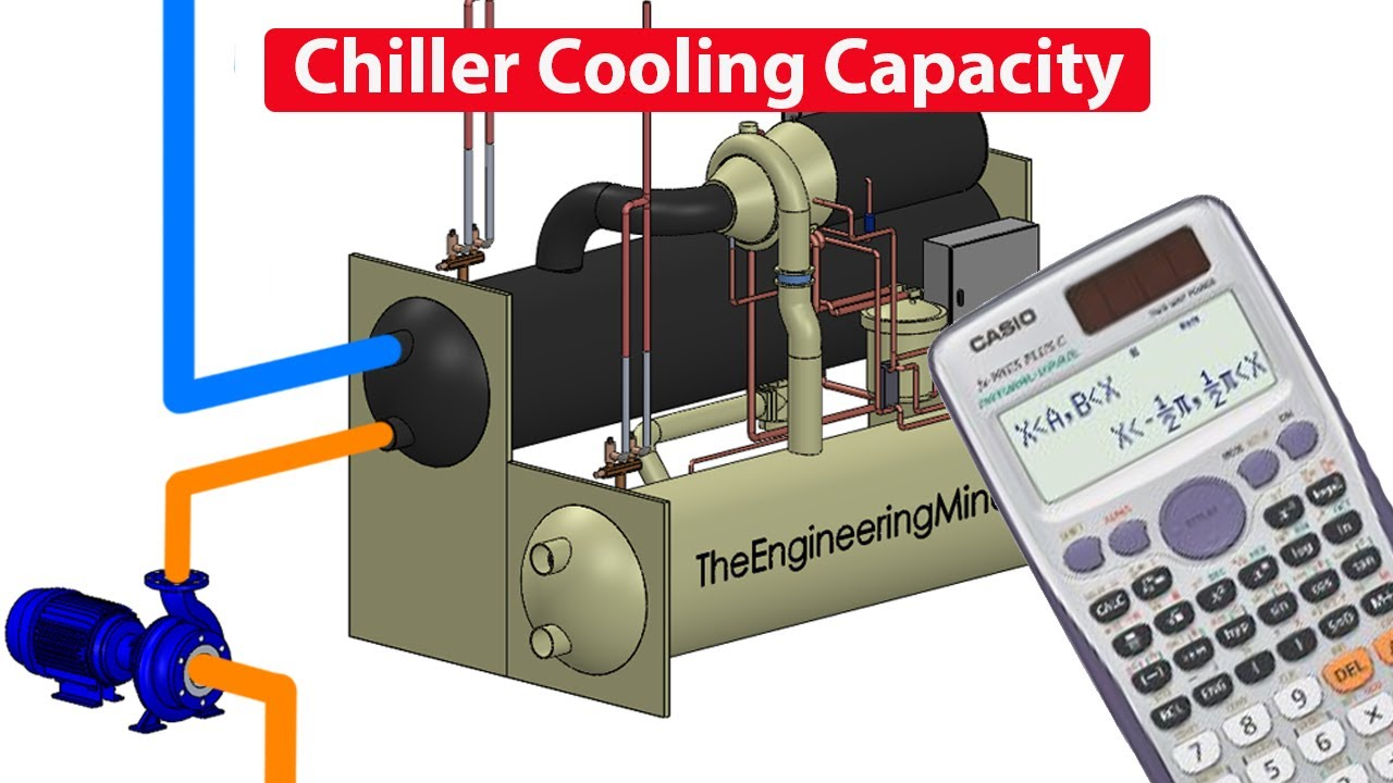 Calculate Chiller Cooling Capacity Load Kw Btu Electrical Engineering In Refrigeration And Air Conditioning Ton The Mindset