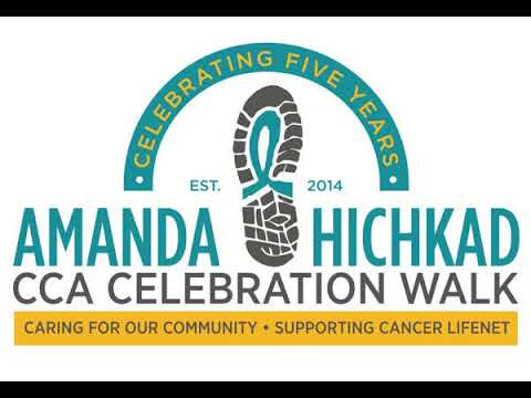 5th Annual Amanda Hichkad CCC Celebration Walk  - Sandy Guzewich interview on WAMD