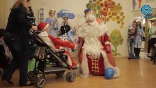 Дед Мороз из Великого Устюга посетил Петербург