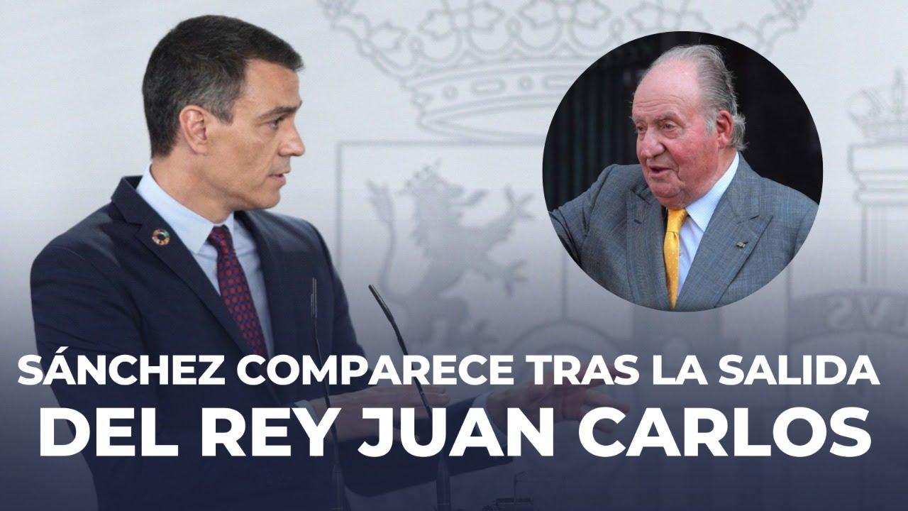 Pedro Sánchez hace balance del curso político y valora la marcha del rey Juan Carlos
