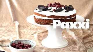 Αφράτη τούρτα Black Forest, ένα κομμάτι δεν φτάνει! - Paxxi Ε32