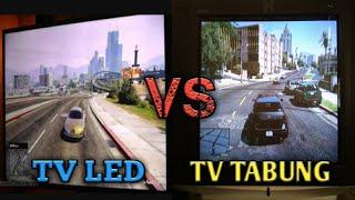 kualitas main ps3 di tv tabung dan tv led