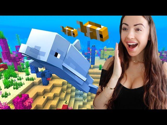 EXPLORING THE OCEAN!! (Minecraft)