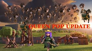 UPDATE. Queen POP LaLoon. MOST OP AIR ATTACK. 3 STAR MAX BASES MAX QUEENS. Clash of Clans