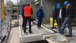 Inbouw Schöck Isokorf® IQlick: De oplossing voor het achteraf monteren van balkons.