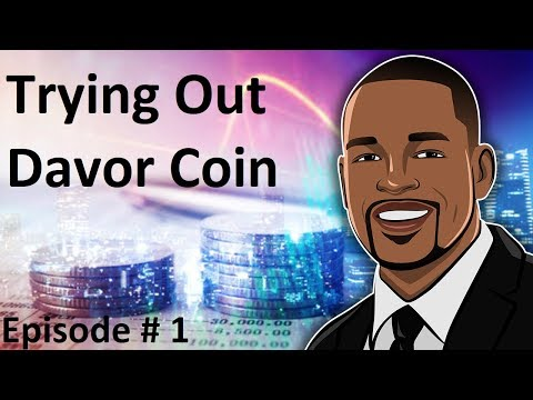 Compelling New Bitcoin Opportunity - Davor Coin Episode #1