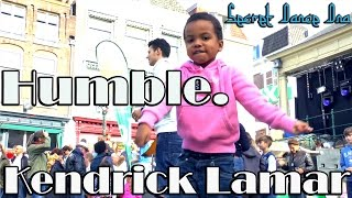 Humble. - Kendrick Lamar / Secret Dance DNA -  choreography by 4 year old niece @ Festival
