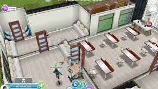 Сериал в игре за Sims FreePlay 1 сезон 1 серия девчячая школа