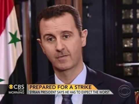 CBS News' Charlie Rose Interviews Bashar al-Assad