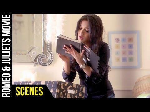 Romeo & Juliets Malayalam Movie Scenes | Catherine Tresa Reading Amala Paul's Diary | Allu Arjun