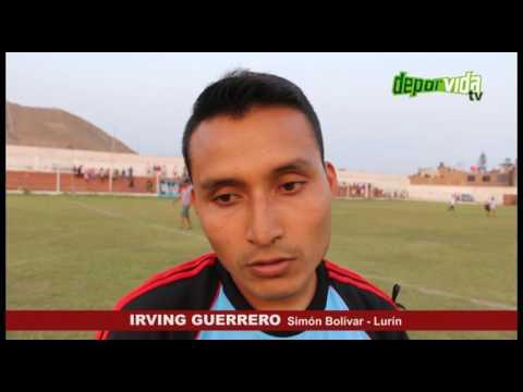 IRVING GUERRERO de Simón Bolivar Liga Lurin al Interligas 2017