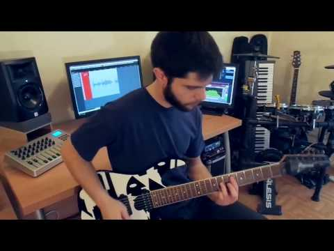Tigran Hamasyan - Out Of The Grid - Metal Cover by AchillMan
