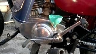Замена масла в коробке передач мотоцикла Минск