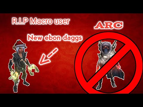 ARCANE LEGENDS: (71) TESTING NEW EBON DAGGERS LV71 ON A MACRO USER(PURGE VS PRECISE) FT.ARC/WAPKID