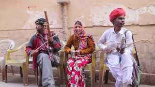 Traditional Rajasthani Folk Music, India